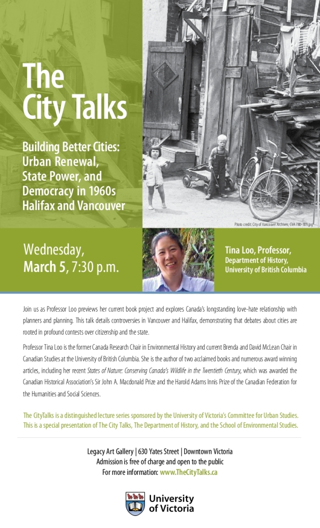 City Talks Poster - Building Better Cities